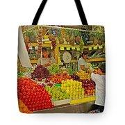 Mazatlan Centro Market-sinaloa Tote Bag