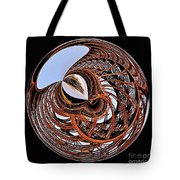 Maze Of Steel Tote Bag
