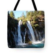 Mcarthur-burney Falls 1 Tote Bag