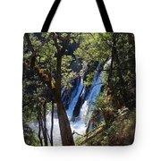 Mcarthur-burney Falls Side View Tote Bag