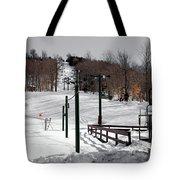 Mccauley Mountain Ski Area Vi- Old Forge New York Tote Bag
