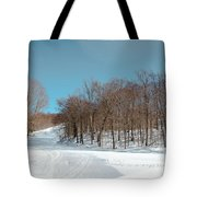 Mccauley Mountain Ski Area Vii- Old Forge New York Tote Bag