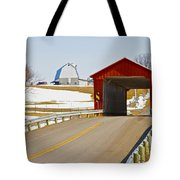 Mccolly Covered Bridge Tote Bag