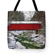 Mcconnells Covered Bridge Tote Bag