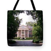 Mccormick Mansion From The Drive Tote Bag