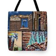 Mcdaid Collage Tote Bag