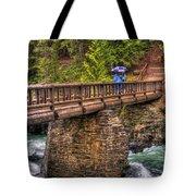 Mcdonald Creek Bridge Tote Bag