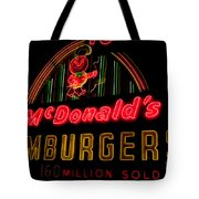 Mcdonalds Sign Tote Bag