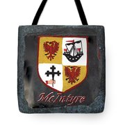 Mcintyre Coat Of Arms Tote Bag