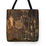 Mckee Ranch Petroglyphs Tote Bag