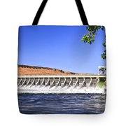 Mcnary  Hydroelectric Dam Tote Bag by Robert Bales