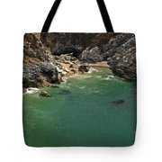 Mcway Into The Bay Tote Bag