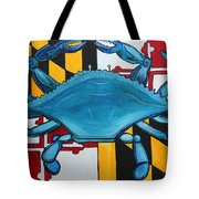 Md Blue Crab Tote Bag