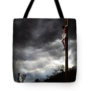 Me And Jesus Tote Bag by Mark Spears