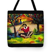 Me And Mom  Tote Bag