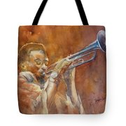 Me And My Trumpet Tote Bag