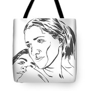 Me And Sarah Tote Bag