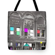 Meaders Theater 1919 Washington D.c. 1919-2010 Tote Bag