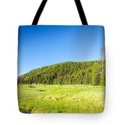 Meadow And Forest Tote Bag