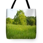 Meadow Blossoms Tote Bag