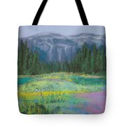 Meadow In The Cascades Tote Bag