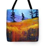 Meadow Mountain Tote Bag