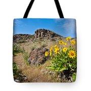 Meadow Of Arrowleaf Balsamroot Tote Bag