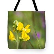Meadow Vetchling Wild Flower Tote Bag