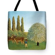 Meadowland. The Pasture  Tote Bag