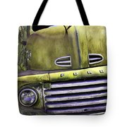 Mean Green Ford Truck Tote Bag