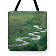 Meandering East River Tote Bag