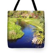 Meandering Stream Tote Bag