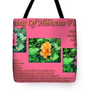 Meaning Of Hibiscus Flowers Tote Bag
