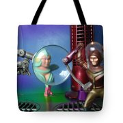 Meanwhile Aboard The Mothership Tote Bag