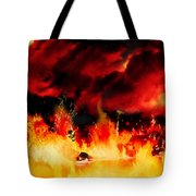 Meanwhile In Tartarus Tote Bag