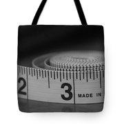 Measuring Up  Tote Bag