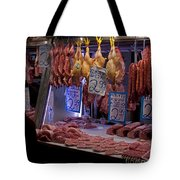 Meat Market    Athens   #6697 Tote Bag