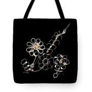Mechanical Flowers Tote Bag