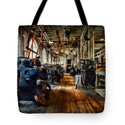 Mechanical Works Tote Bag