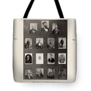 Medal Of Honor Recipients Tote Bag