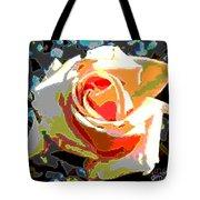 Medallion Rose Tote Bag