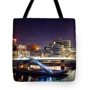 Media Harbor Dusseldorf Tote Bag