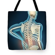 Medical Illustration Showing Tote Bag
