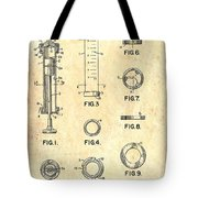 Medical Syringe Patent 1954 Tote Bag