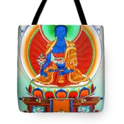 Medicine Buddha 9 Tote Bag
