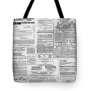 Medicine Show Tote Bag by Richard Reeve