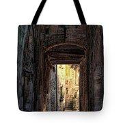 Medieval Alley Tote Bag