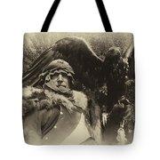 Medieval Barbarian Artur And Spirit 2 Tote Bag