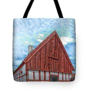 Medieval Building Tote Bag