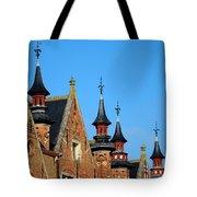 Medieval Buildings Towers And Vanes Tote Bag